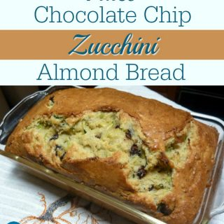 Paleo Chocolate Chip Zucchini Almond Bread. So good and good for you, too! From Nourishing Meals. [featured on GlutenFreeEasily.com]