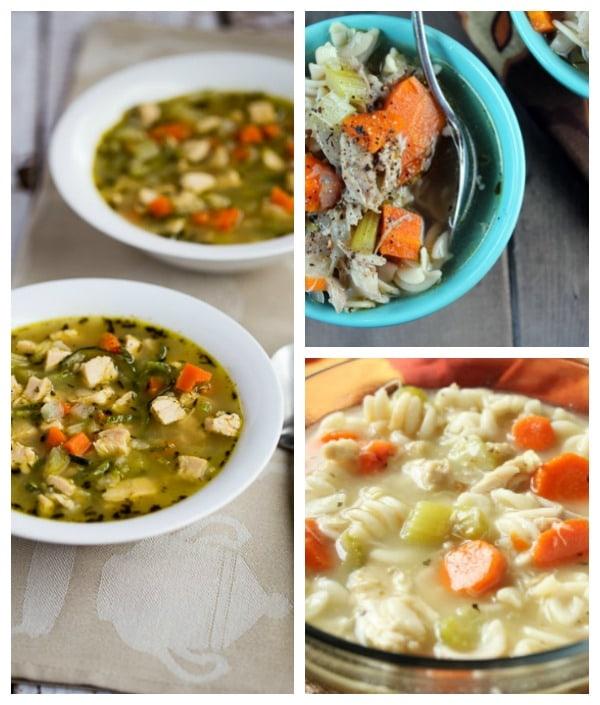 Gluten-Free Chicken Noodle Soup Recipes [featured on GlutenFreeEasily.com[