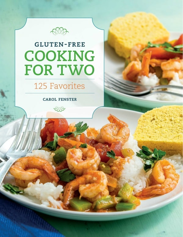 Gluten-Free Cooking for Two by Carol Fenster Cookbook Cover Photo [featured on GlutenFreeEasily.com]