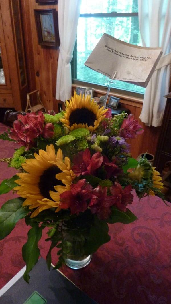 Sunflowers from Cheryl