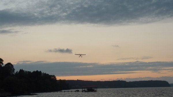 Float Plane Tim's Sunset 600