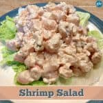 Sunset Shrimp Salad (Naturally Gluten Free, When Precautions Are Taken)
