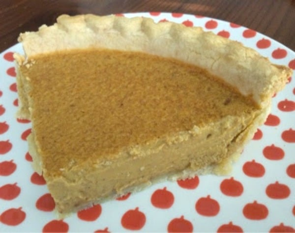 Gluten-Free Cream Cheese Pumpkin Pie. One of 50 gluten-free pumpkin recipes tha are sure to make you happy! [featured on GlutenFreeEasily.com]