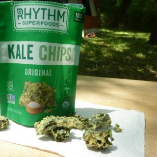 GFE Recommends Rhythm Superfoods Kale Chips. [featured on GlutenFreeEasily.com]