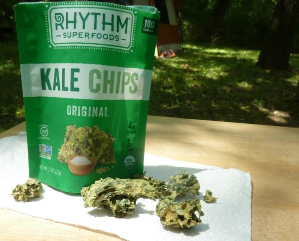 GFE recommends naturally gluten-free Rhythm Kale Chips. [featured on GlutenFreeEasily.com]