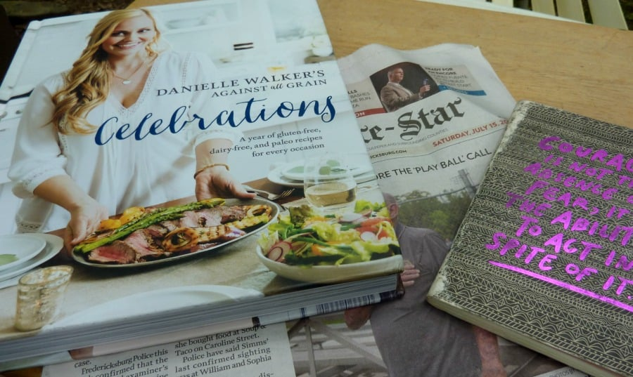 Danielle Walker's Celebrations Cookbook is great reading with wonderful grain-free, dairy-free, paleo recipes. [from GlutenFreeEasily.com]