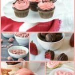 Pretty-in-Pink Gluten-Free Desserts Made Using Freeze-Dried Strawberries