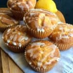 Gluten-Free Lemon Yogurt Muffins