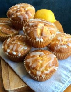 Gluten-Free Lemon Yogurt Muffins. Lemon-infused baked goods are a ray of sunshine! One of 20 gluten-free muffin recipes featured on gfe for March Muffin Madness.