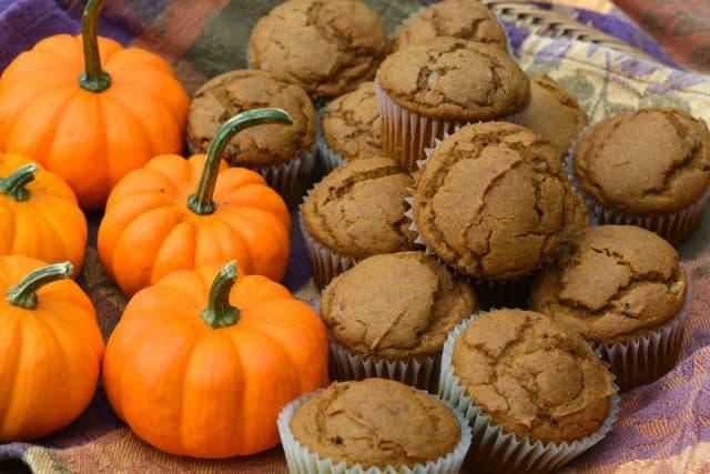 Gluten-Free Pumpkin Ginger Muffins.
