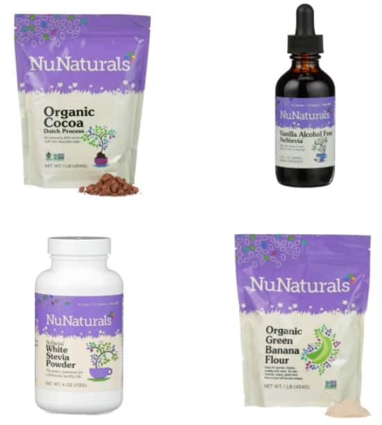NuNaturals Giveaway Package March Muffin Madness