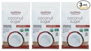 Nutiva Coconut Sugar Three-Pack