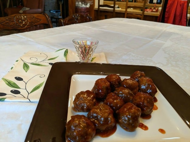 These Spiced Meatballs make the party. They're gluten free but even the gluten-full folks love them! [from GlutenFreeEasily.com]
