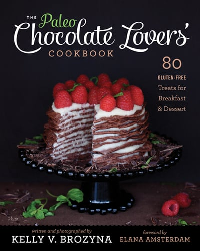 The Paleo Chocolate Lover's Cookbook Cover Photo