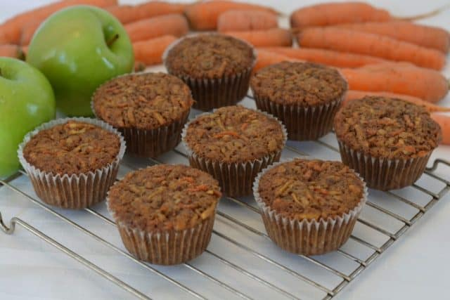 Gluten-Free Morning Glory Muffins.