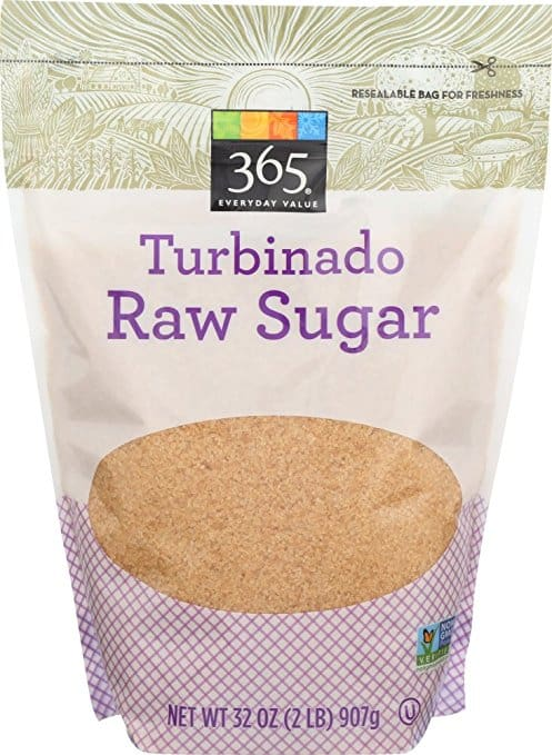 Turbinado Raw Sugar