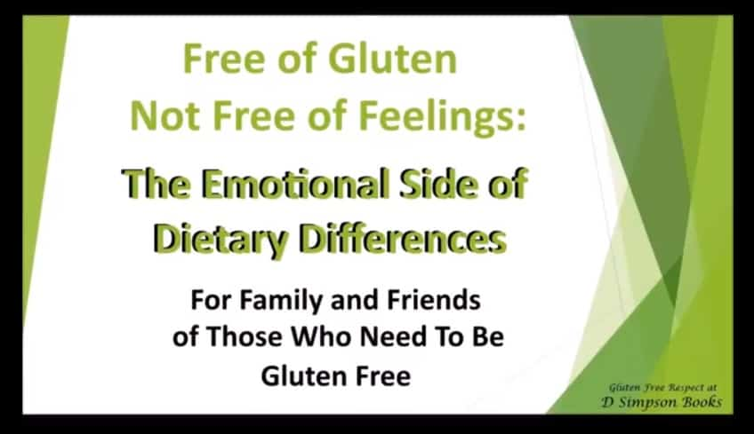 Free of Gluten Not Free of Feelings Cover