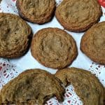 Gluten-Free Banana Flour Chocolate Chip Cookies. Delicious grain-free treats that are just soft enough and chewy enough! [from GlutenFreeEasily.com]
