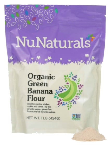 NuNaturals Green Banana Flour Photo