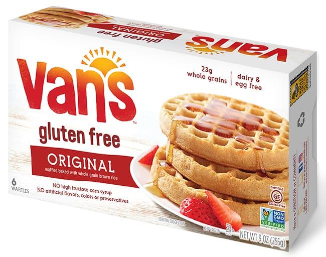Van's Gluten-Free Waffles FDA Recall UCM606032