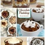 "Gluten-Free Chocolate Pudding Recipes. Classic pudding recipes that are ""just gluten free"" and others that are dairy free, vegan, etc. Plus, chocolate pudding desserts that will make your mouth water! [featured on GlutenFreeEasily.com]"