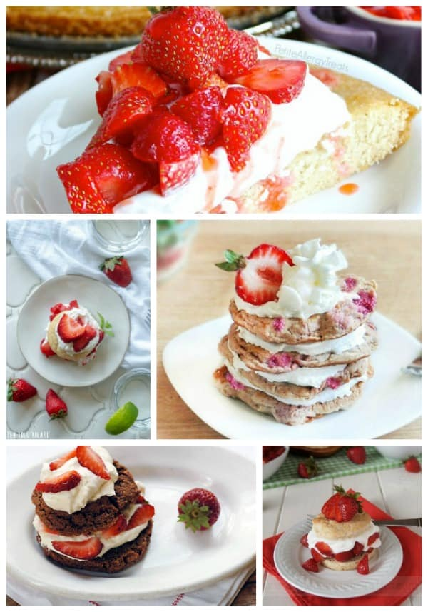 Capture the essence of summer with these 25 gluten-free Strawberry Shortcake dessert recipes! [featured on GlutenFreeEasily.com]