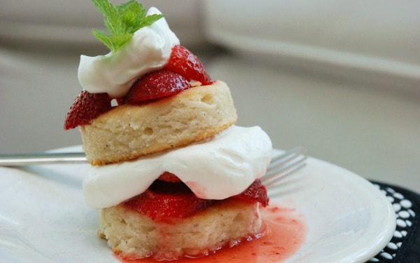 Gluten-Free Strawberry Shortcake. One of 25 gluten-free strawberry shortcake recipes on gfe. [featured on GlutenFreeEasily.com]