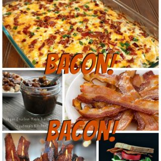 50 Gluten-Free Bacon Recipes. Sweet and savory options plus there are even instructions for making the best bacon and vegan bacon options. [from GlutenFreeEasily.com]
