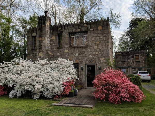 The Big Castle and the Little Castle in Falmouth Virginia