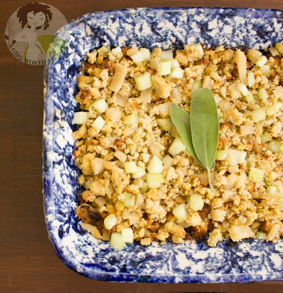 Paleo Keto Thanksgiving Stuffing. One of 35 holiday-worthy, gluten-free stuffing recipes featured on gfe. [from GlutenFreeEasily.com]
