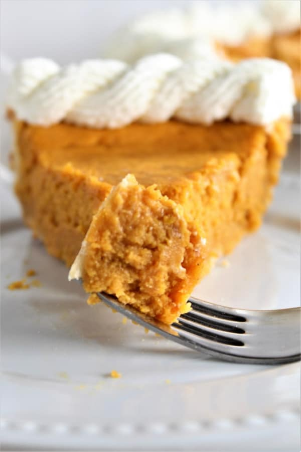 Incredible Gluten-Free Pumpkin Pie from Let Them Eat Gluten-Free Cake