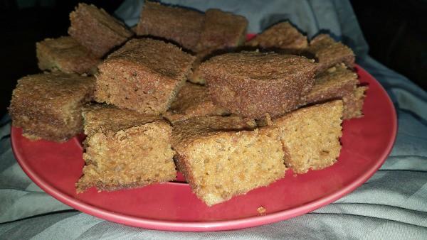 Gluten-Free Pumpkin Spice Apple Cider Cake by Michelle K.