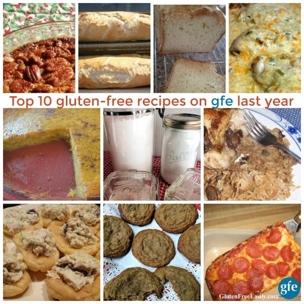 Top 10 Gluten-Free Recipes on gfe Last Year
