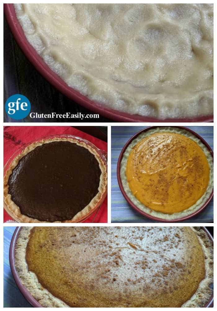 The Best Gluten-Free Pie Crust New Gluten-Free Never-Fail Pie Crust Collage