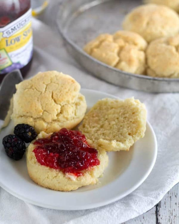 Gluten-Free and Paleo Buttermilk Biscuits from Cassidy's Craveable Creations