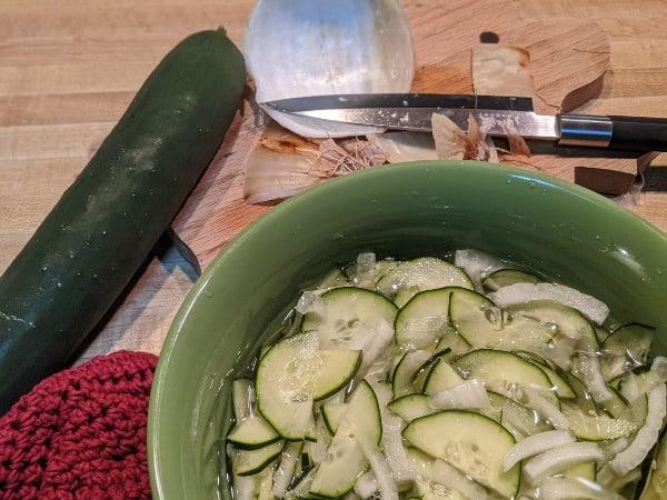 Classic Cucumber Salad