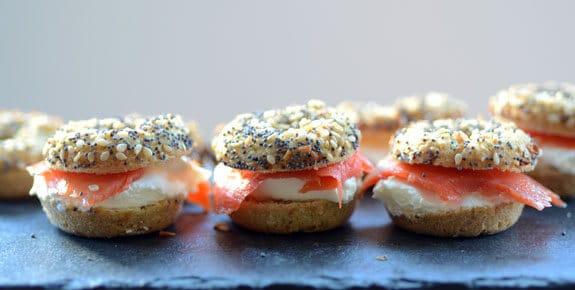 Paleo Mini Bagels Elana's Pantry Everything Bagels Photo