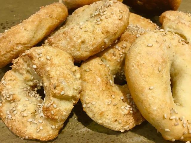 Three-Ingredient Gluten-Free Easy Bagels from Gluten Free A to Z