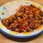 Gluten-Free Stovetop Chicken Chili (Not White)