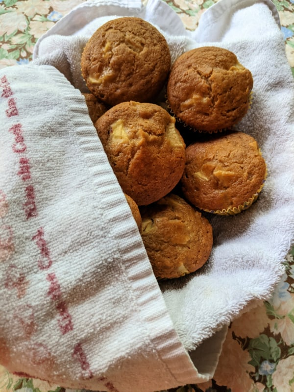 Gluten-Free Double Apple Muffins