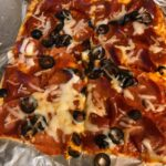 "This Flourless Gluten-Free Low-Carb Pizza is not only naturally gluten free, it's grain free and doughless! More importantly, it's loved by everyone, even your gluten-full family members and friends. The crust, which is made of only eggs and cheese, is amazing. The texture is very ""bread"" like. [from GLutenFreeEasily.com]"