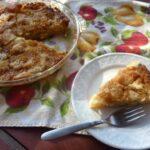 Gluten-Free Caramel Apple Pie. Crustless apple pie infused with caramel sauce. Irresistible goodness! [from GlutenFreeEasily.com]