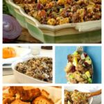 Holiday-Worthy Gluten-Free Stuffing Recipes. Over 35 of them featured on gfe. [GlutenFreeEasily.com]